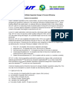 Separator Design Process Efficiency
