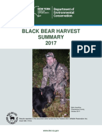 2017 NY Black Bear Harvest report