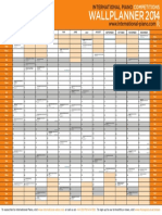 IP Wallplanner 2014