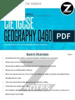 Cie Igcse Geography 0460 Atp Znotes