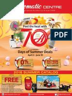 70 Days of Summer 2018