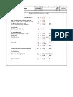 Design Calculation for L Angle - Eurocode Design