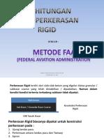 12. Perhitungan Metode Faa (Rigid)