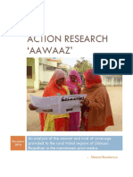 Aawaaz - Action Research