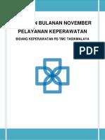 b. Cover Laporan November