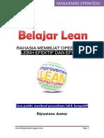 Belajar Lean - Riyantono Anwar