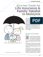 Towers Watson 2014 Key Trends Life Insurance Family Takaful Malaysia