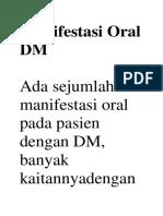 Manifestasi Oral DM.docx