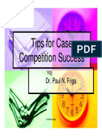 Tips for Case Competition Success