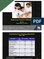 Teaching Critical Thinking - Teacher's Workshop