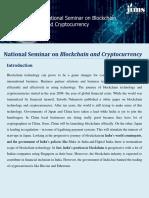 Blockchain & Cryptocurrency Seminar- JIMS Rohini