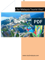 How to Apply for Malaysia Tourist Visa?