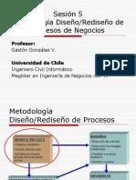 BPM (Sesión 5 - Metodología Diseño y Rediseño de Procesos de Negocios)