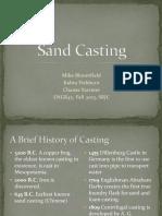 Sand Casting Semester Presentation