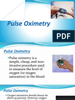 Lesson 9 Pulse Oxymetry
