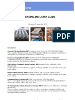 Packaging Industry Guide