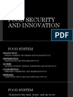 Food Security and Innovation