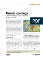Unsafe Openings