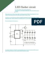 Bicolour LED Flasher Circuit