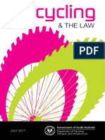 DPTI Cycling and the Law Booklet