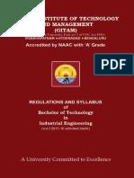 B.tech Syllabus Wef 2015-16 Admitted Batch