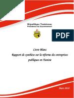 Livre Blanc Rapport de Synthese Sur La Reforme Des Entreprises Publiques en Tunisie