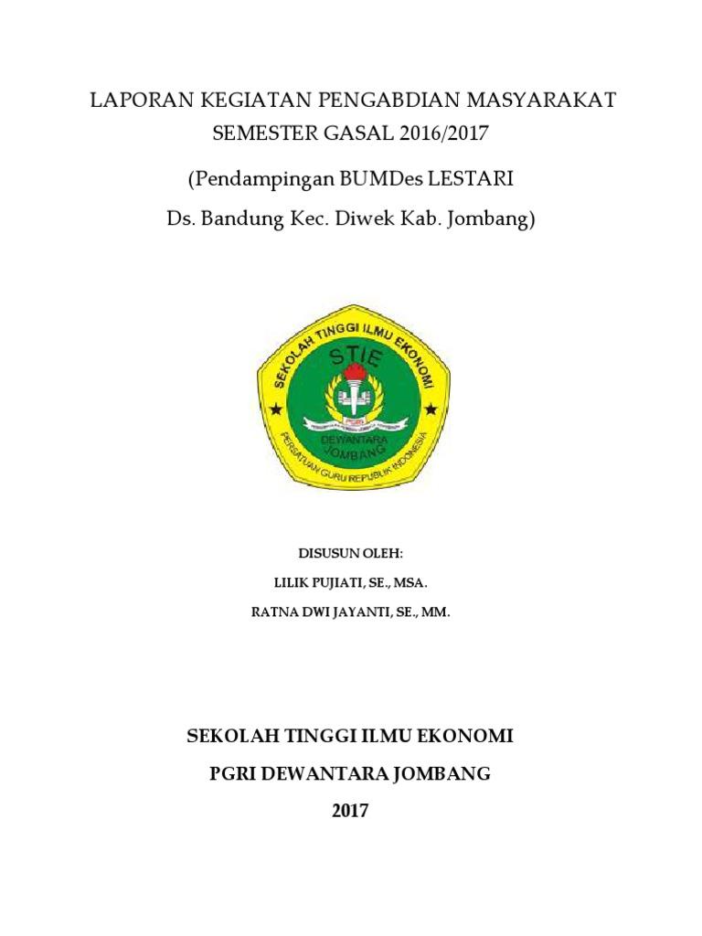 Laporan Pertanggung Jawaban Bumdes Bandung