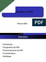 Introdução PHP