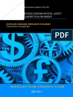Portfolio Theory Discussion Papers No 001 Strategi Investasi Saham