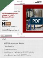 Modellbildung von SHERPA-Systemverbindern