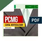 Edital Verticalizado - Delegado - PCMG