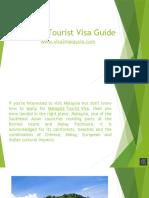 Malaysia Tourist Guide from Visa 2 Malaysia