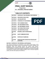 Internal Audit Manual New