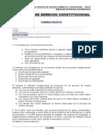 Examen de Derecho Constitucional Dic 2017