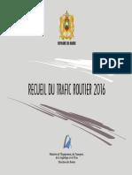 Recueil Trafic Routier 2016 - VF