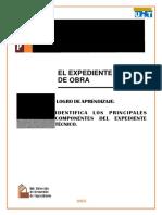 El Expediente Tecnico OSCE MUT
