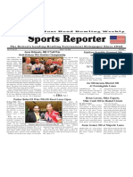 April 4 - 10, 2018  Sports Reporter