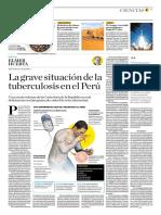 La Grave Situación de La Tuberculosis en El Perú