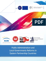 Public Administration and Local Government Reforms in Eastern Partnership Countries
