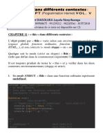La variable « this » dans différents contextes en JavaScript