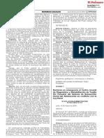 Declaran en emergencia el Centro Juvenil de Diagnóstico y Rehabilitación de Trujillo (Ex Floresta) del Sistema de Reinserción Social del Adolescente en conflicto con la Ley Penal