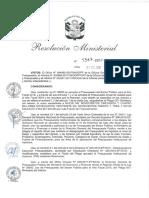 1347-2017-In (Aprobar El Presupuesto Institucional de Apertura de GASTOS CORRIENTE 2018, 9 624 927 933.00) (1)