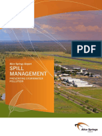 Alice Springs Airport Spill Management