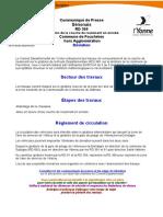 Plan de déviation de la RD 369 à Fouchère