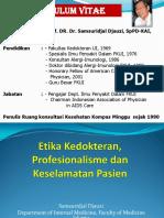 3. Prof Samsuridjal - Etika Dan Keselamatan Pasien