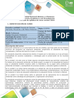 Syllabus Educacion Ambiental