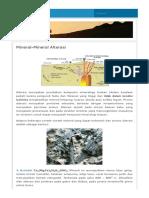 Mineral-Mineral Alterasi _ Freelander