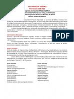 Convocatoria Doctorado UMSNH 2018