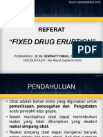 Fixed Drug Eruption
