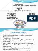 induction motor failure conditions